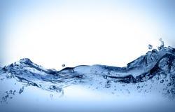 dynamiskt flyttningsvatten Fotografering för Bildbyråer