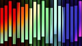 Dynamiskt livligt färgrikt glat för abstrakt mjuk för regnbågefärgflyttning för kvarter rörelse för bakgrund ny kvalitets- univer lager videofilmer