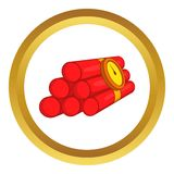 Dynamite vector icon Stock Image