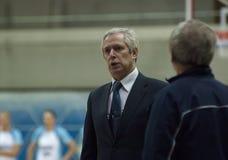 Dynamo coach V. Shtam Stock Images