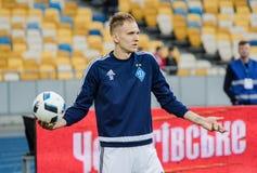 Dynamo Kiev contra Vorskla Poltava Imagen de archivo libre de regalías