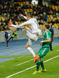 Dynamo Kiev contra Vorskla Poltava Foto de archivo