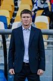 Dynamo Kiev contra Vorskla Poltava Imagenes de archivo