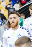Dynamo Kiev contro Vorskla Poltava Fotografia Stock