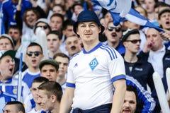 Dynamo Kiev contro Vorskla Poltava Fotografia Stock Libera da Diritti