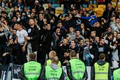 Dynamo Kiev contro Vorskla Poltava Immagini Stock