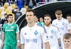 Dynamo Kiev contro Vorskla Poltava Immagine Stock Libera da Diritti