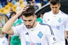 Dynamo Kiev contro Vorskla Poltava Immagini Stock Libere da Diritti