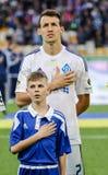 Dynamo Kiev gegen Vorskla Poltava Stockfotos