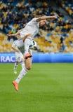 Dynamo Kiev gegen Vorskla Poltava Stockbild