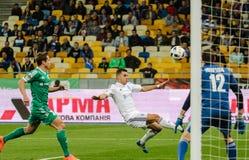 Dynamo Kiev gegen Vorskla Poltava Lizenzfreie Stockbilder