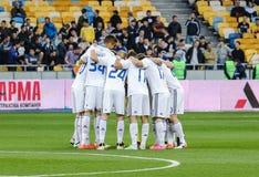 Dynamo Kiev gegen Vorskla Poltava Lizenzfreie Stockfotografie