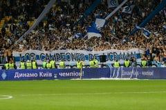 Dynamo Kiev gegen Vorskla Poltava Lizenzfreies Stockfoto