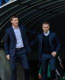 Dynamo Kiev versus Vorskla Poltava Royalty-vrije Stock Afbeelding