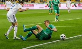 Dynamo Kiev versus Vorskla Poltava Stock Foto