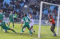 Dynamo Kiev and Vorskla Poltava Royalty Free Stock Photo