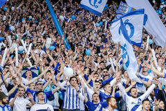 Dynamo Kiev vs Vorskla Poltava Royalty Free Stock Photo