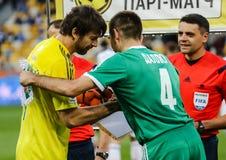 Dynamo Kiev vs Vorskla Poltava Stock Images