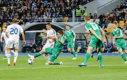 Dynamo Kiev vs Vorskla Poltava Stock Photos