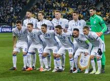 Dynamo Kyiv against SS Lazio royalty free stock image