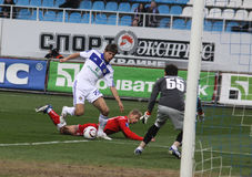 Dynamo Kyiv contre Kryvbas Photo stock