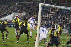Dynamo Kyiv de FC contre AZ Alkmaar image libre de droits
