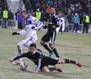 Dynamo Kyiv de FC contre Besiktas image stock