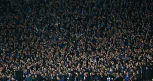 Free Dynamo Kyiv Fans Putting Hands Up, UEFA Europa League Round Of 16 Second Leg Match Between Dynamo And Everton Stock Photo - 78679770