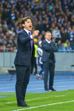 Dynamo Kyiv - Fiorentina. UEFA Europa League Royalty Free Stock Images