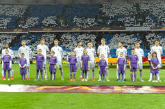 Dynamo Kyiv - Fiorentina. UEFA Europa League Stock Photo
