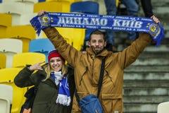 Dynamo Kyiv gegen SS Lazio Lizenzfreies Stockbild