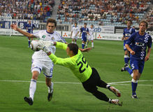 Dynamo Kyiv - Gent Royalty Free Stock Images