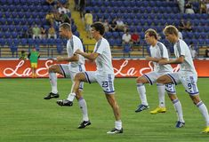 Dynamo Kyiv players Stock Images