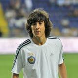 Dynamo Kyiv players Royalty Free Stock Photos