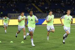 Dynamo Kyiv players Stock Photo