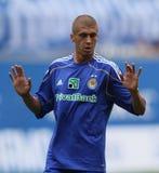Dynamo Kyiv's defender Evgeniy Hacheridi Royalty Free Stock Photography