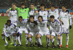 Dynamo Kyiv team Stock Photos