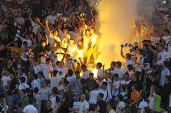 Dynamo Kyiv ultra supporters Royalty Free Stock Photos