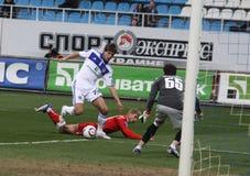 Dynamo Kyiv versus Kryvbas Stock Foto
