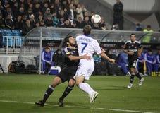 Dynamo Kyiv vs Besiktas Royalty Free Stock Photos