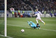 Dynamo Kyiv vs Besiktas Royalty Free Stock Image