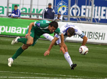 Dynamo Kyiv vs Karpaty Lviv Stock Image