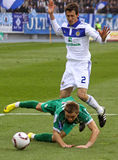 Dynamo Kyiv vs Karpaty Lviv Royalty Free Stock Photography