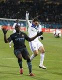 Dynamo Kyiv vs Manchester City Royalty Free Stock Photos