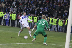 Dynamo Kyiv vs Manchester City Stock Photo