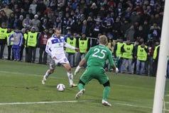 Dynamo Kyiv vs Manchester City Stock Photo