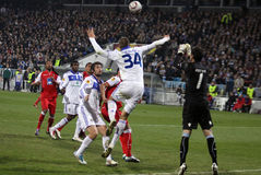 Dynamo Kyiv vs SC Braga Royalty Free Stock Photos