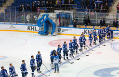 Dynamo Moscow team Royalty Free Stock Image