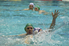 Dynamo(Moscow) vs Sintez (Kazan) of waterpolo Stock Photos