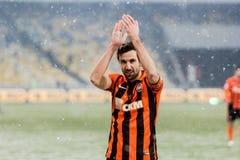 Dynamo première ukrainienne de match de ligue Kyiv - Shakhtar Donetsk, d images stock